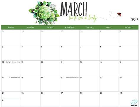 Mom Calendar Template