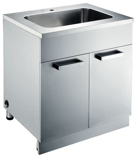 stainless steel sink base cabinet stainless steel sink base cabinets kitchen cabinetry