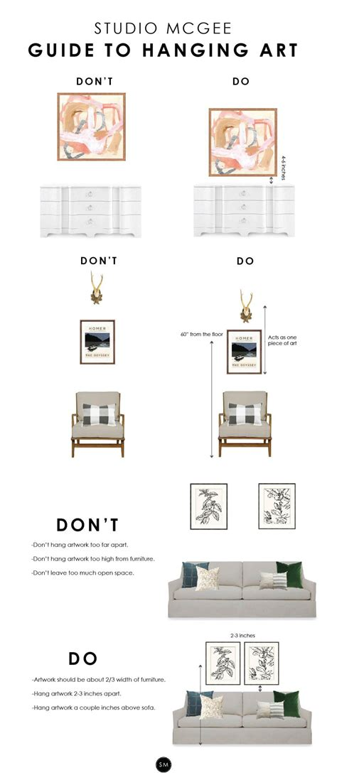 how high to hang art the most common design mistake we re seeing hanging