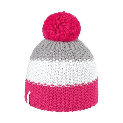 bonnets de bonnet pompon ski fuschia bonnet ski brekka