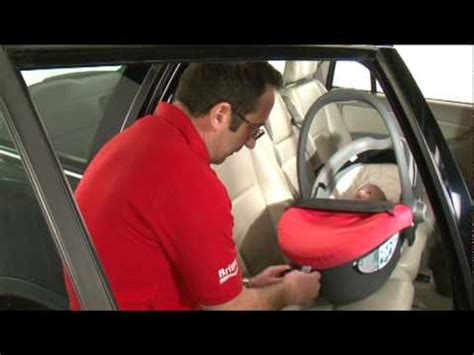Britax Safe Sleeper by Baby Safe Sleeper Installing The Seat