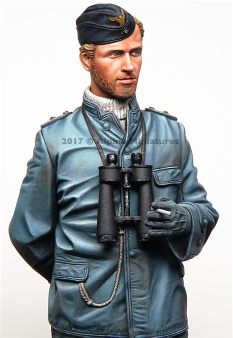 u boat figures alpine 16036 german u boat officer planetfigure