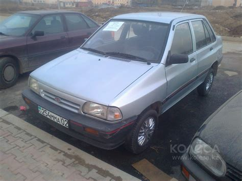 Pride Kia Motors 1998 Kia Pride Da Pictures Information And Specs