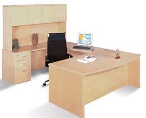 Light Wood Office Desk U Shaped Desks Minneapolis Milwaukee Podany S