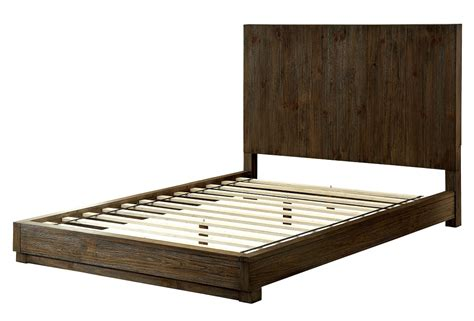 bed frame king amarante collection cm7624 furniture of america california