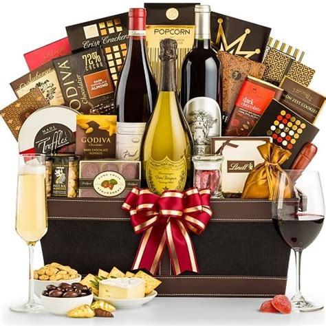best gift baskets top of the line luxury wine gift basket upscale gifts