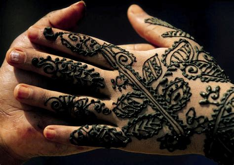 historia de los tatuajes de henna o mehndi