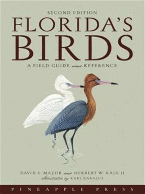 florida s birds a field guide and reference by david