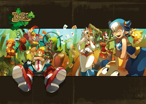 Wall Clock Art by Dofus Mmorpg Images Dofus Hd Wallpaper And Background Photos 29027796
