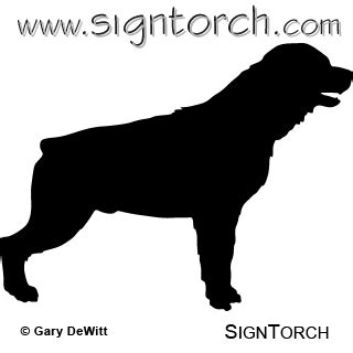 how to cut rottweiler rottweiler signtorch turning images into vector cut paths
