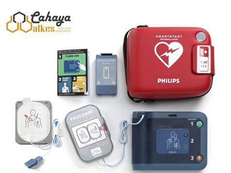 aed defibrillator frx philips heartstart cahaya alkes