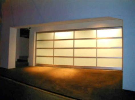 Modern Glass Garage Doors Modern Glass Garage Door Ayanahouse