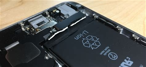 replaced  iphone battery