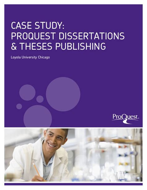 proquest umi dissertation publishing study proquest dissertations theses loyola
