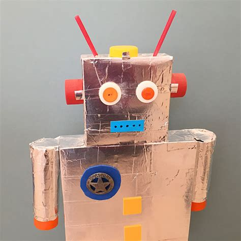 diy robotics projects diy recycled robot ziggity zoom family