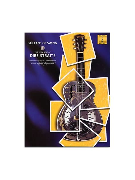 sultans of swing by dire straits sultans of swing the best of dire straits sheet