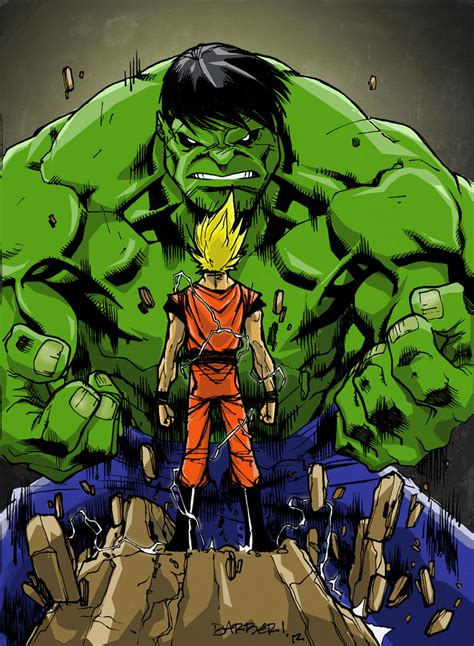 imagenes de goku vs hulk goku vs hulk dreager1 s blog