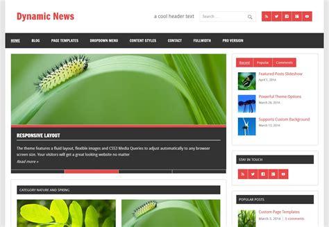 blogger magazine themes 2015 free magazine wordpress theme dynamic news lite
