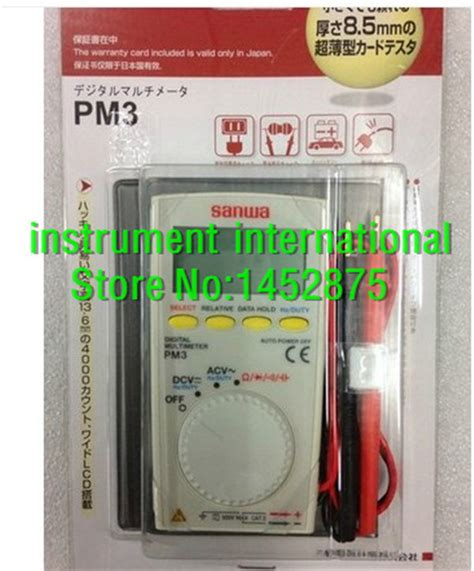 Multitester Sanwa Cd771 sanwa multimeter promotion shop for promotional sanwa
