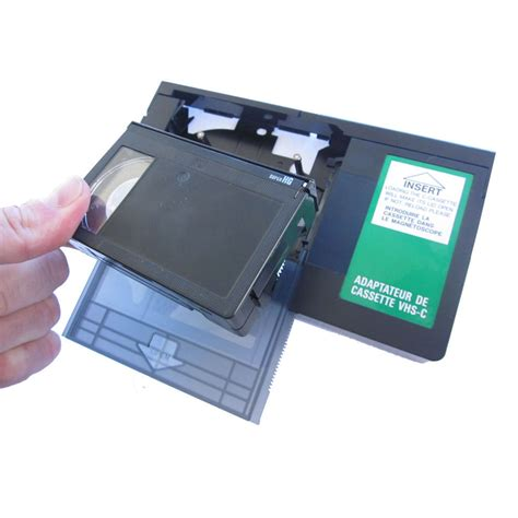 cassette videocamera cassette adaptor vhs c vhsc to standard vcr