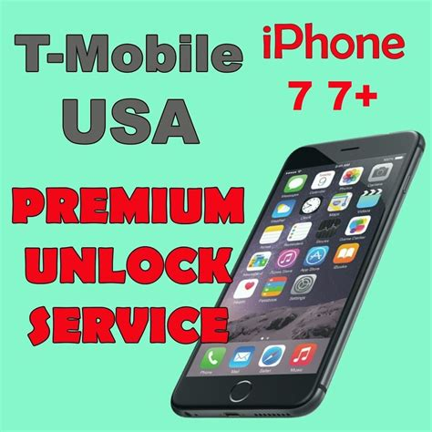 Iphone Unlock Service by Premium Unlock Service T Mobile Usa Iphone 7 7 All Imei Ebay