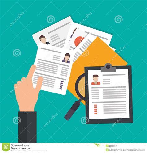 design concept document human resources design stock vector image 65887394