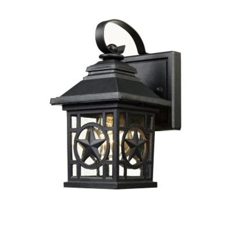laredo outdoor black wall lantern 1001193064