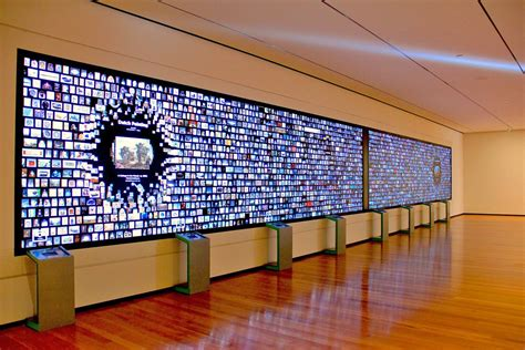 digital wall cleveland museum of art unveils 40 foot wide interactive