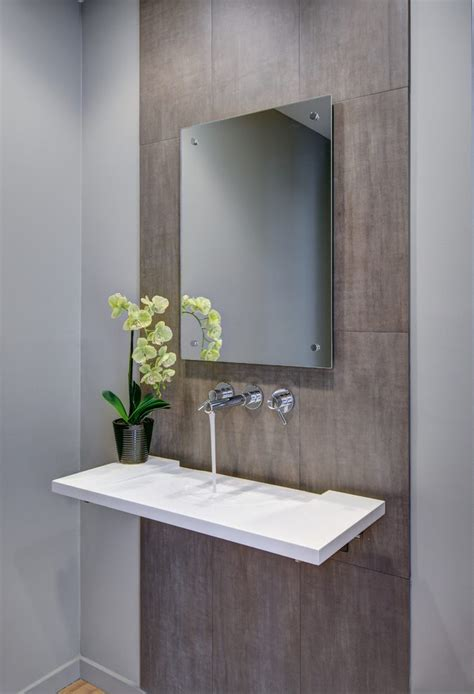 modern powder room sinks terrific powder room sinks ideas with orchids