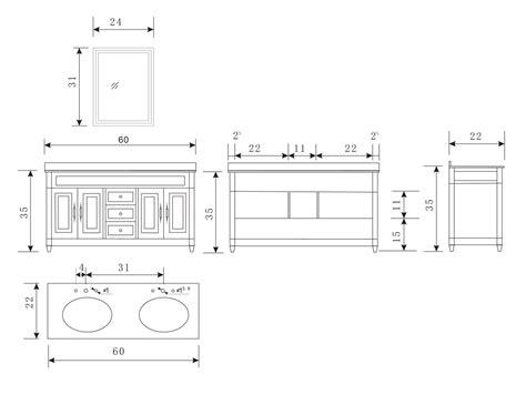 60 Inch Vanity Top Dimensions 60 Quot Hudson Sink Vanity Bathgems