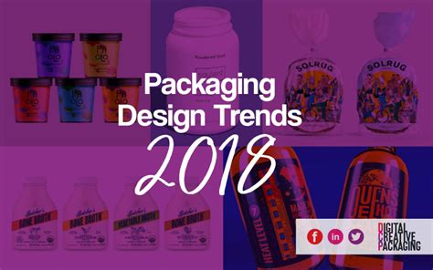 7 design trends from the last year with infographic 7 packaging design trends 2018 digital creative packaging