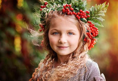 hd wallpaper cute little girl cute little girl blue eyes wears cherry hat hd wallpaper