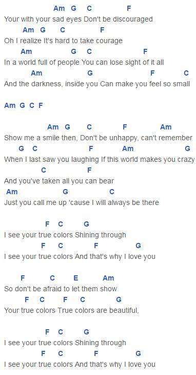 colors chords true colors chords capo 4 kendrick justin timberlake