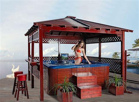 gazebo bar usato sale outdoor tub wood gazebo used wooden gazebo
