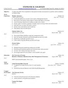 exle resume insurance verification resume sle