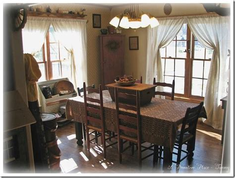 primitive dining room pin by a primitive place on my home pinterest