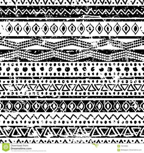tribal pattern drawn vector ethnic seamless pattern hand drawn tribal striped