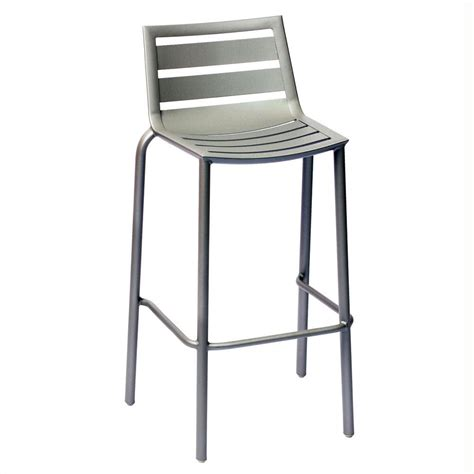 Bar Height Patio Chair Bfm Seating South Dv550ts Stackable Outdoor Aluminum Bar Height Chair