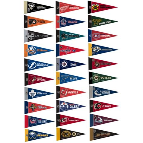 Bedroom Sets Dallas nhl mini pennant set and mini pennants for nhl
