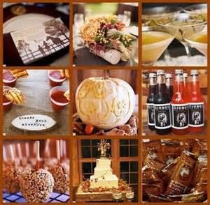 fall themed bridal shower ideas shower ideas