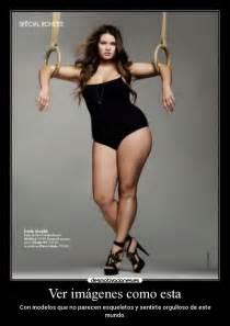 Carteles gorda modelo orgulloso mujer linda desmotivaciones