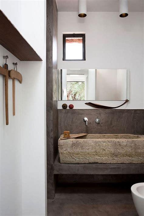 bagno in pietra bagni in pietra suggerimenti originali per il