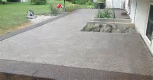 aggregate patio patio exposed aggregate modern patio outdoor