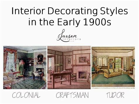 1900s home decor the philosophy of interior design early