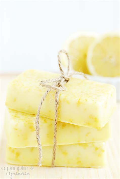 Handmade Lemon Soap - lemon soap mother s day gift ideas diy do