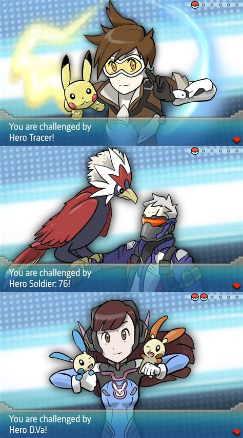 overwatch meets pokemon how overwatch pokemon trainers