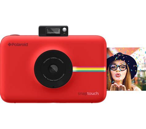 Buy POLAROID Snap Touch Digital Instant Camera   Red