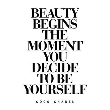 coco chanel quote printable diy home decor free 8 5 digital download motivational print coco from