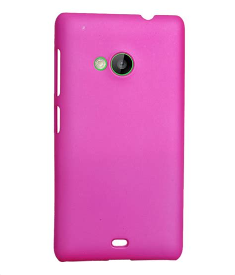 Back Cover Microsoft Lumia 535 coverage back cover for microsoft lumia 535 ds pink