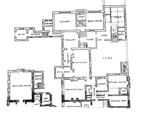 House Plans With Servant Quarters